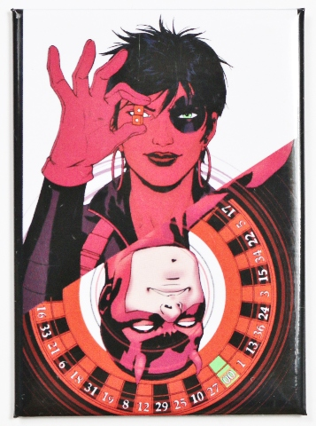 Domino and Daredevil FRIDGE MAGNET Marvel Comics Comic Book Superhero Heroes N18