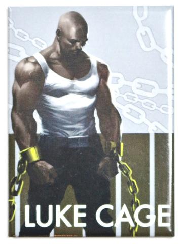 Luke Cage Power Man FRIDGE MAGNET Marvel Comics Avengers Comic Book Books O12