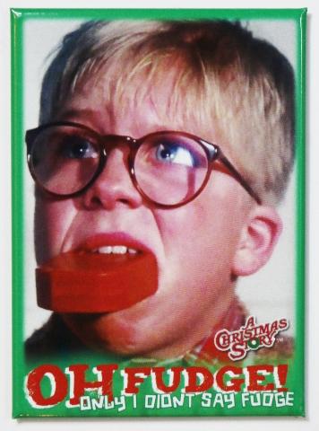 A Christmas Story Oh Fudge FRIDGE MAGNET Ralph Parker | eBay