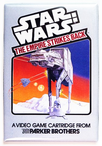 Star Wars The Empire Strikes Back Atari Video Game Box FRIDGE MAGNET
