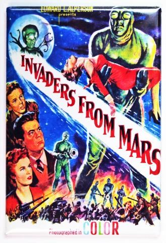 Invaders From Mars Movie Poster FRIDGE MAGNET Sci Fi 1950s E1