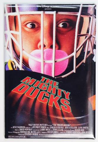 The Mighty Ducks Movie Poster FRIDGE MAGNET Disney Sports Hockey