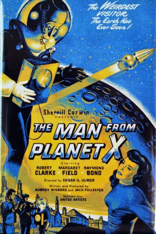 The Man From Planet X Movie Poster FRIDGE MAGNET 1950s Sci Fi B Flick
