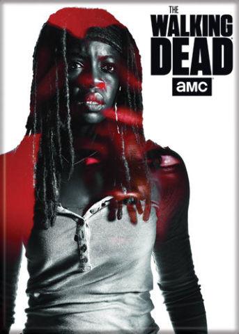 The Walking Dead Michonne FRIDGE MAGNET Negan Rick Grimes B25