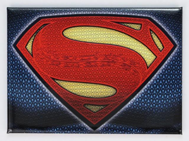 Superman Logo FRIDGE MAGNET Justice League Batman Snider DC Comics Book Superhero