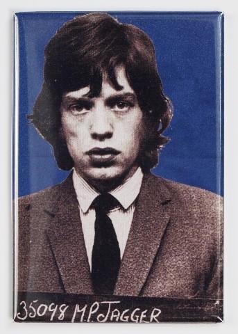 Mick Jagger Mugshot FRIDGE MAGNET Rolling Stones Rock Music