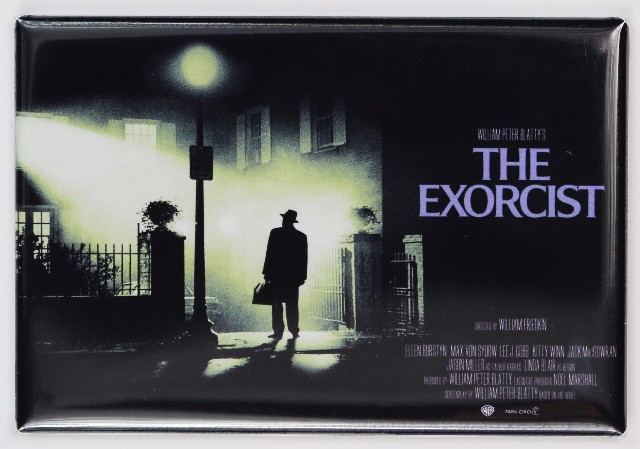 The exorcist Movie Poster FRIDGE MAGNET Classic Horror Film