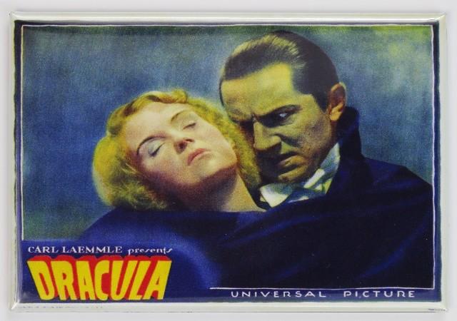 1931 Dracula Lobby Card Movie Poster FRIDGE MAGNET Bela Lugosi Monster Horror