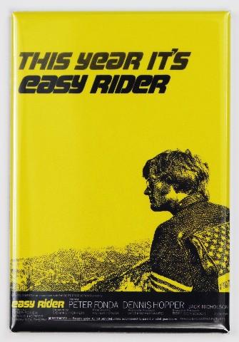 Easy Rider Movie Poster FRIDGE MAGNET Fonda Hopper Motorcycle Bike Harley
