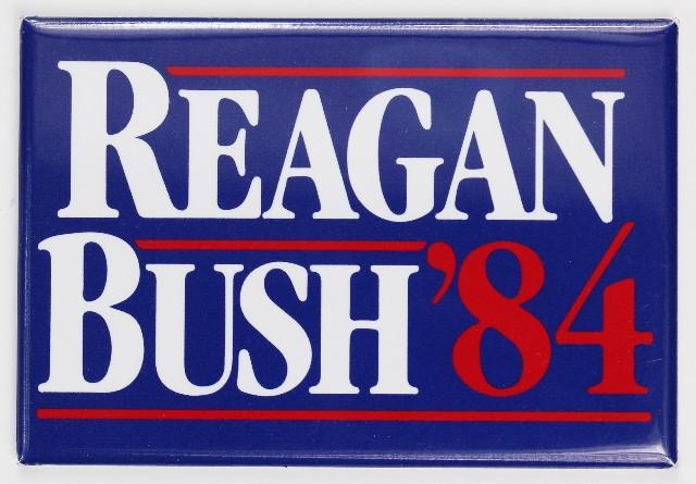 Ronald Reagan Bush 84 Election FRIDGE MAGNET Campaign Poster Republican 1984