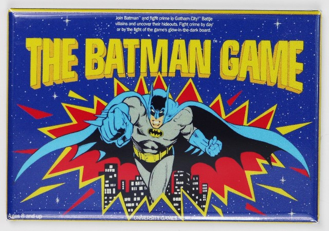 The Batman Game FRIDGE MAGNET Board Games DC Comics Comic Book
