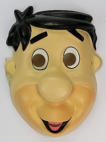 Vintage Fred Flintstone Halloween Mask The Flintstones Hanna Barbera 1992
