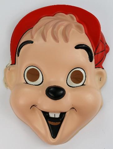 Vintage Alvin and the Chipmunks Halloween Mask 1992 Y093