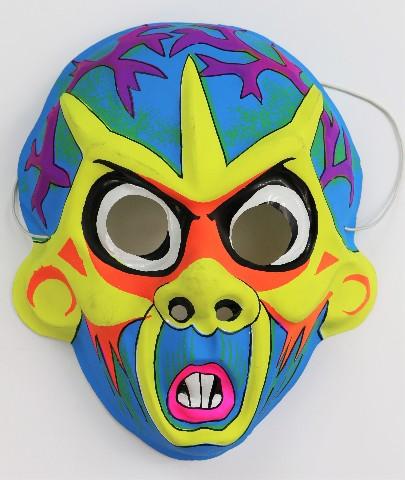 Vintage Vampire Halloween Mask Monster Zombie Rodent Rat Costume Horror Y230