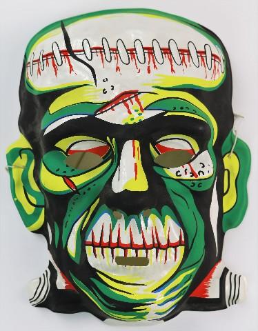 Vintage Frankenstein Halloween Mask Monster Universal Monsters Y094