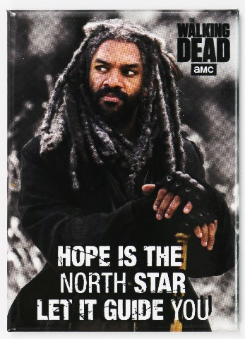 The Walking Dead King Ezekiel FRIDGE MAGNET Rick Grimes Negan P21