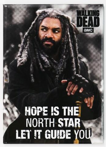 The Walking Dead King Ezekiel FRIDGE MAGNET Rick Grimes Negan P21