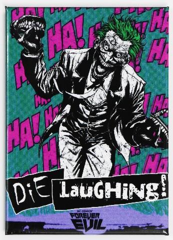The Joker Die Laughing FRIDGE MAGNET Batman DC Comics Forever Evil C18