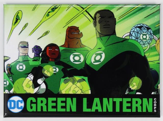 The Green Lantern Corps FRIDGE MAGNET Justice League DC Comics E27