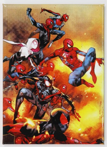 Spiderman FRIDGE MAGNET Marvel Comics The Avengers E28