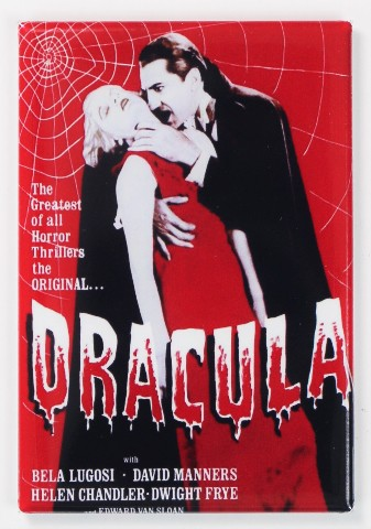 Dracula Movie Poster FRIDGE MAGNET Universal Monsters Bela Lugosi Vampire Horror