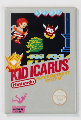 NES Kid Icarus Video Game FRIDGE MAGNET Nintendo 1980s Arcade Classic