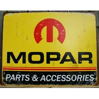 Vintage Mopar parts accessoriesTin metal Sign Car Man Cave Garage  DodgeE111