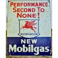 Mobile Gas Oil mobilgas pegasus Tin Sign Vintage Styled Garage Man Cave Gift
