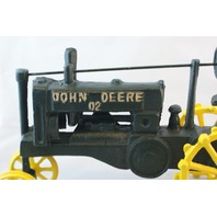 Large John Deere Tractor Cast Iron Country Farm Equipment Decor Paper Weight