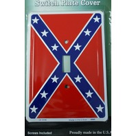 Dixie Confederate Flag Light Switch Plate Cover South Southern Americana C2
