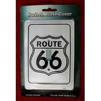 Route 66 Light Switch Plate Cover Garage Man Cave RT Hot Rod Car Classic C2