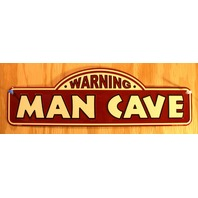 Man Cave Tin Metal Sign Bar Garage Pub Game Room Alcohol Porter Brewery Brew B77