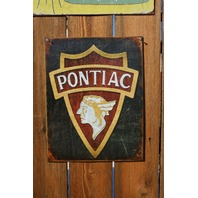 Pontiac Indian Head Logo Tin Sign Firebird Trans AM G8 GTO Judge Banshee GT