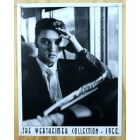 Elvis Presley Werthiemer Collection Tin Sign Graceland Sun Records B&W Photo F52