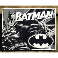 Batman DC Comics Tin Metal Sign Comic Book Superhero Man Cave Dark Knight