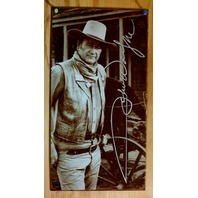 John Wayne Stage Coach Tin Sign Western Stetson Hat Rodeo True Grit Rooster E94