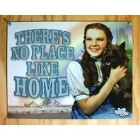Wizard Of Oz No Place Like Home Tin Sign Movie Poster Dorothy Toto Kansas