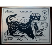 Honey Badger Poster Print By Clark Orr S/N Limited 60 Acme Target King Cobra Art