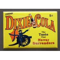Dixie Cola Refrigerator Fridge Magnet Soda Pop South Dixie Confederate Flag F11