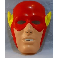 Vintage The Flash Halloween Mask DC Comics Rubies Costume Co Justice League Y033