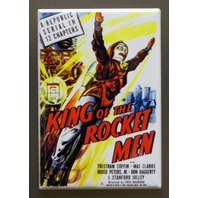 King of the Rocket Men Movie Poster Refrigerator FRIDGE MAGNET Sci Fi i11