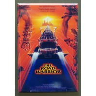 The Road Warrior Movie Poster FRIDGE MAGNET Mad Max Mel Gibson 1980's  J1