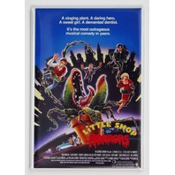 Little Shop of Horrors Movie Poster FRIDGE MAGNET 1980's Cult Classic Film K22