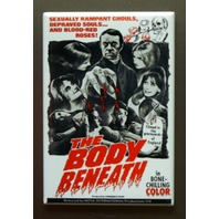 The Body Beneath Refrigerator Fridge Magnet Sci Fi Horror Movie Poster o2