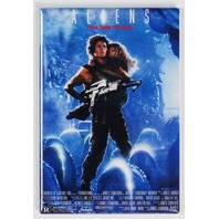 Aliens Refrigerator FRIDGE MAGNET Movie Poster 80s Sci Fi Film Movie Room A18