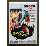 Blood And Lace FRIDGE MAGNET Movie Poster Horror Film Shock Aftershock B11