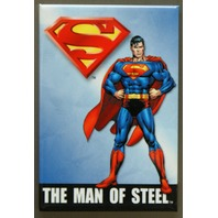 Superman The Man Of Steel Refrigerator Fridge Magnet DC Comic Books Movie B30