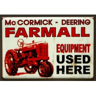 McCormick Deering Farmall Tractor Fridge Magnet Country Home Farming Truck C7