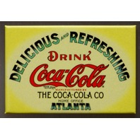 Drink Coca Cola Fridge Magnet Atlanta Coke Soda Pop Advertisement Classic AD D1