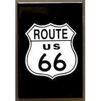 US Route 66 Highway FRIDGE MAGNET Hot Rod Garage Mechanic Car Truck Dinner D8